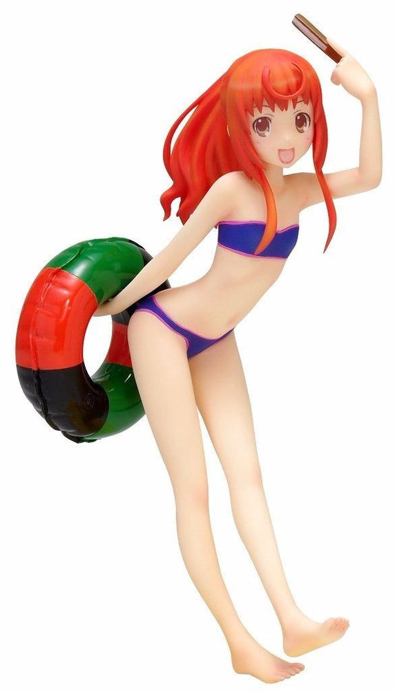 WAVE BEACH QUEENS Joshiraku Marii Buratei 1/10 Scale Figure NEW from Japan_1