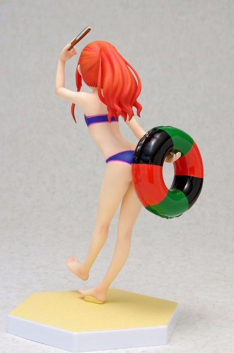 WAVE BEACH QUEENS Joshiraku Marii Buratei 1/10 Scale Figure NEW from Japan_3