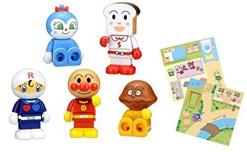 Waiwai Block Doll Set with Block Lab Block NEW from Japan_2