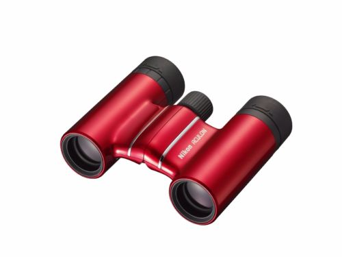 Nikon ACULON T01 10x21 Binoculars Roof Prism Red from Japan_1