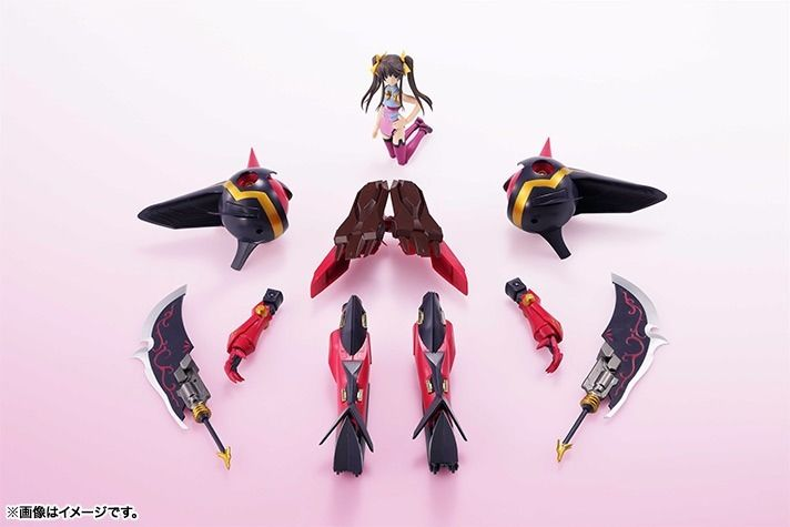 Armor Girls Project IS Infinite Stratos SHENLONG X LINGYIN HUANG BANDAI Japan_6
