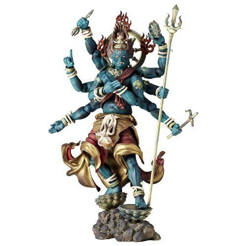 Revoltech TAKEYA BUDDHIST STATUE COLLECTION No.015 GUNDARI MYOO Figure KAIYODO_1
