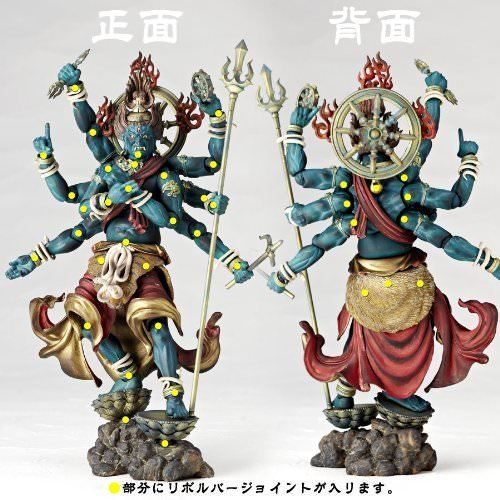 Revoltech TAKEYA BUDDHIST STATUE COLLECTION No.015 GUNDARI MYOO Figure KAIYODO_2