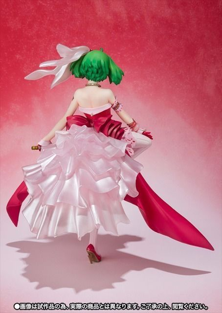 Figuarts ZERO Macross RANKA LEE WISH OF VALKYRIE GLOWING RED PVC Figure BANDAI_4