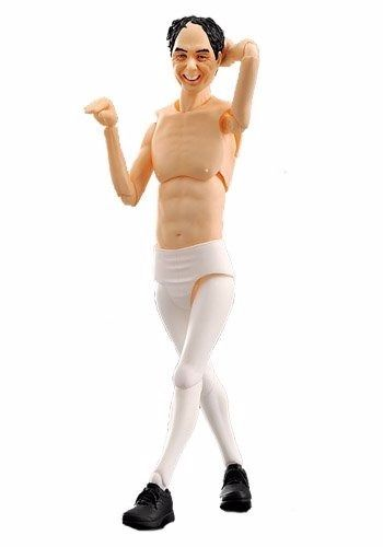 figma EX-013 Egashira 2:50 White Tights ver. Figure FREEing NEW from Japan_1
