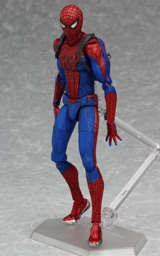 figma 199 The Amazing Spider-Man Spider-Man Figure _4
