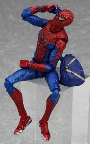 figma 199 The Amazing Spider-Man Spider-Man Figure _5