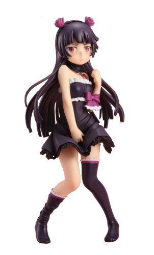 Oreimo Kawaii Wake ga Nai Black One-piece Dress Kuroneko 1/8 Scale Figure_1