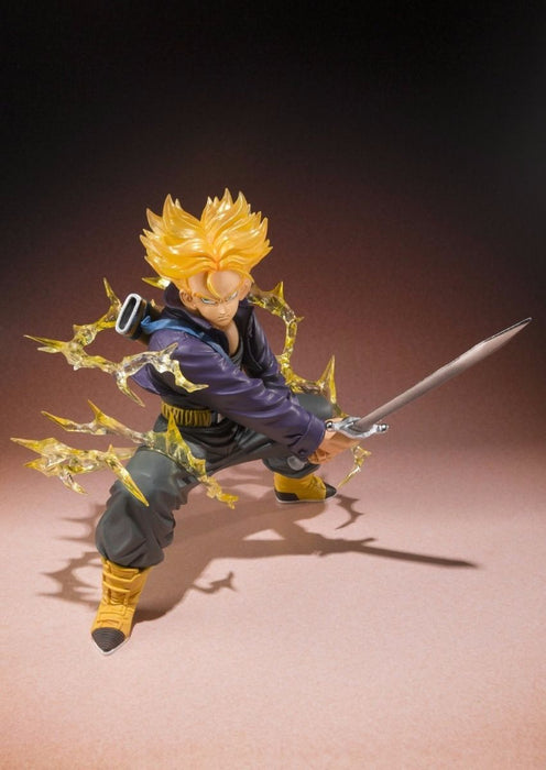 Figuarts ZERO Dragon Ball Z SUPER SAIYAN TRUNKS PVC Figure BANDAI from Japan_2