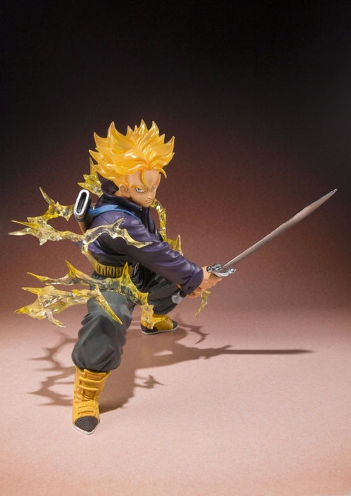 Figuarts ZERO Dragon Ball Z SUPER SAIYAN TRUNKS PVC Figure BANDAI from Japan_4