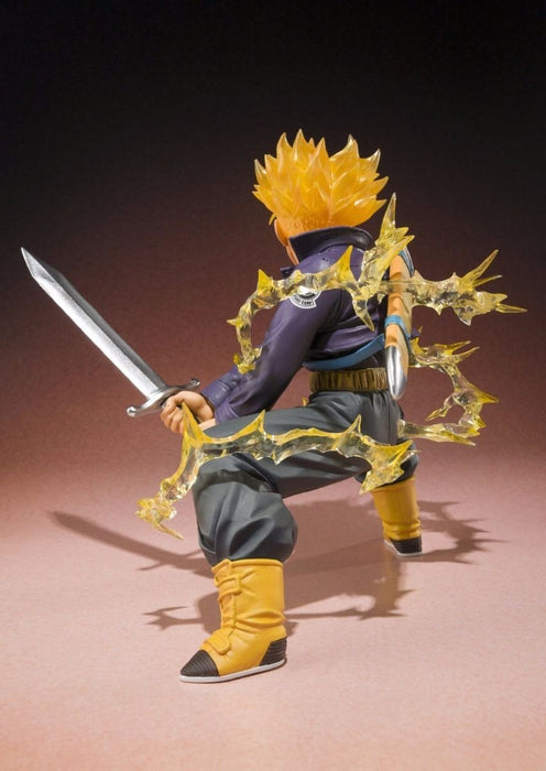 Figuarts ZERO Dragon Ball Z SUPER SAIYAN TRUNKS PVC Figure BANDAI from Japan_5