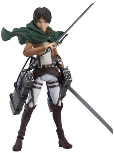 figma 207 Attack on Titan Eren Yeager Figure_1