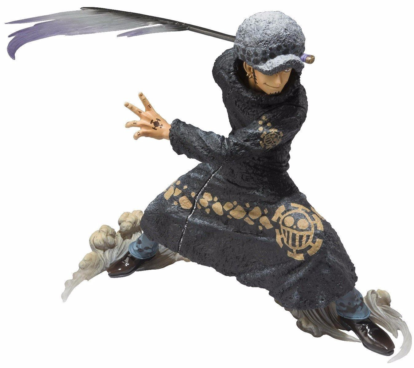 Figuarts ZERO One Piece TRAFALGAR LAW BATTLE Ver PVC Figure BANDAI from Japan_1