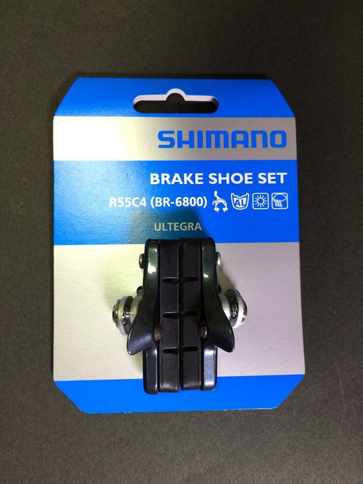 SHIMANO Y8LA98030 ULTEGRA BICYCLE BRAKE CARTRIDGE SHOE SET BR-6800 R55C4 Japan_2