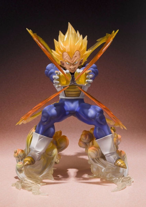Figuarts ZERO Dragon Ball Z SUPER SAIYAN VEGETA PVC Figure BANDAI from Japan_2