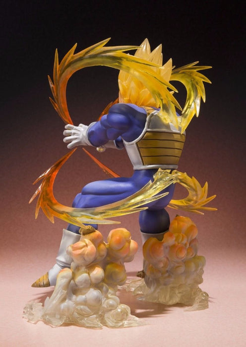 Figuarts ZERO Dragon Ball Z SUPER SAIYAN VEGETA PVC Figure BANDAI from Japan_4