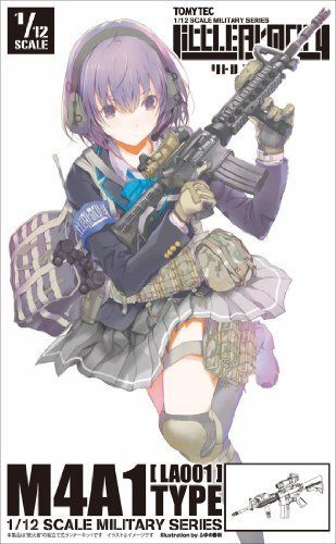 Tomytec 1/12 Little Armory (LA001) M4A1 Plastic Model NEW from Japan_1