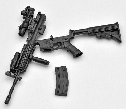 Tomytec 1/12 Little Armory (LA001) M4A1 Plastic Model NEW from Japan_4