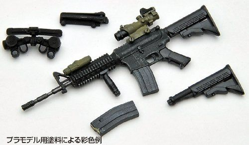 Tomytec 1/12 Little Armory (LA001) M4A1 Plastic Model NEW from Japan_6