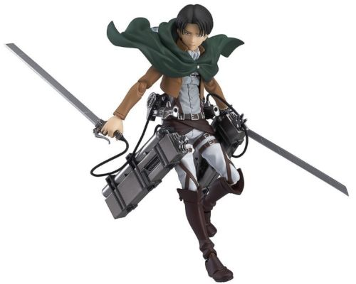 figma 213 Attack on Titan Levi Figure Max Factory from Japan_1