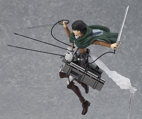 figma 213 Attack on Titan Levi Figure Max Factory from Japan_2