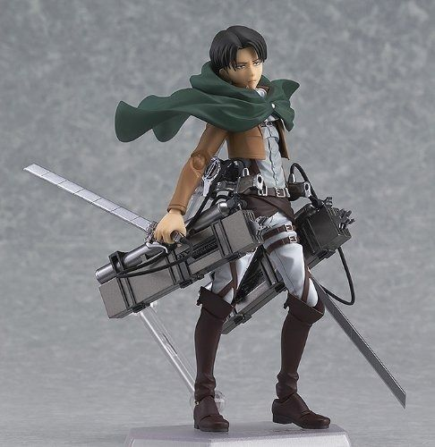 figma 213 Attack on Titan Levi Figure Max Factory from Japan_4