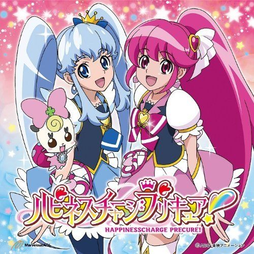 [CD] TV Anime Happinesscharge Precure! OP (SINGLE+DVD) NEW from Japan_1