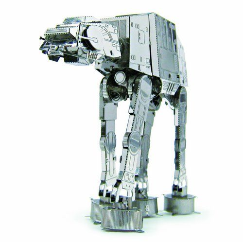 Tenyo Metallic Nano Puzzle Star Wars AT-AT Model Kit NEW from Japan_1