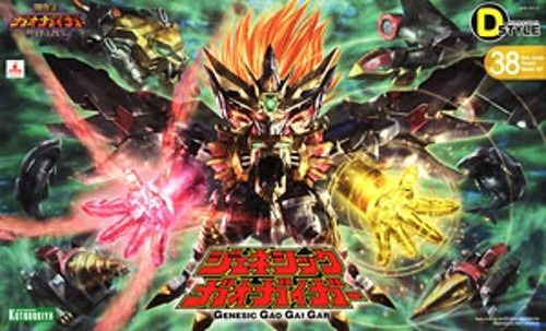 KOTOBUKIYA D-STYLE 38 The King of Braves GENESIC GAOGAIGAR Plastic Model Kit NEW_1