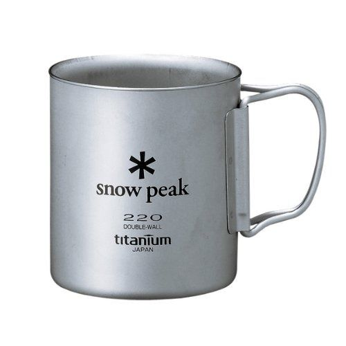 snow peak MG-051FHR Titanium TI -DOUBLE 220 MUG FH from Japan_1