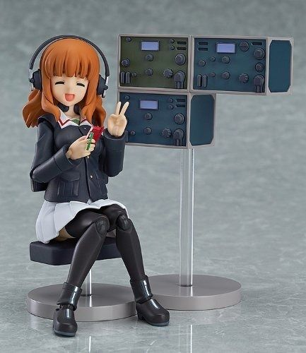 figma 221 Girls und Panzer Saori Takebe Figure Max Factory from Japan_3