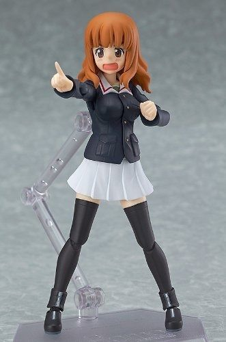 figma 221 Girls und Panzer Saori Takebe Figure Max Factory from Japan_4