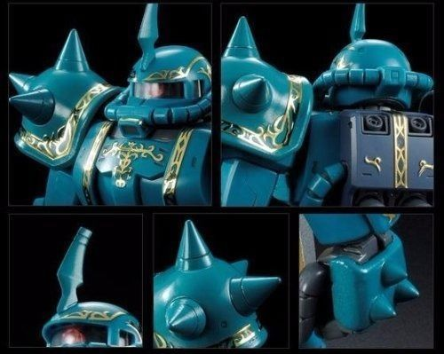 BANDAI MG 1/100 MS-06F ZAKU II DOZLE ZABI CUSTOM Plastic Model Kit Gundam NEW_3
