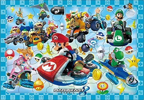 APOLLO-SHA 85 Pieces Kids Puzzle Mario Kart 8 Picture Puzzle NEW from Japan_1