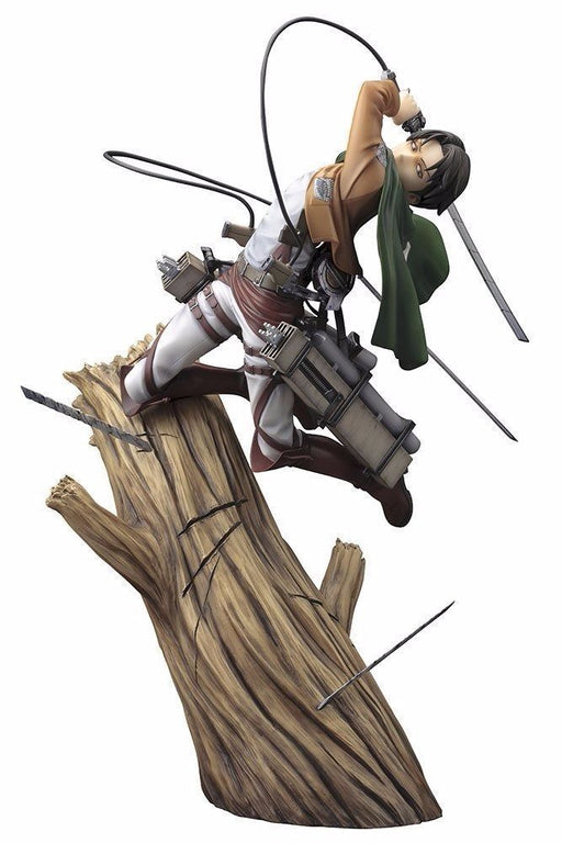 ARTFX J Attack on Titan LEVI 1/8 PVC Figure Kotobukiya NEW from Japan_1