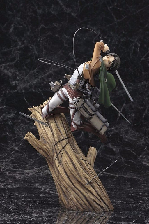ARTFX J Attack on Titan LEVI 1/8 PVC Figure Kotobukiya NEW from Japan_2