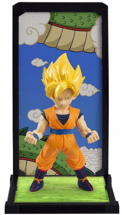 TAMASHII BUDDIES Dragon Ball Z SUPER SAIYAN SON GOKOU PVC Figure BANDAI Japan_1