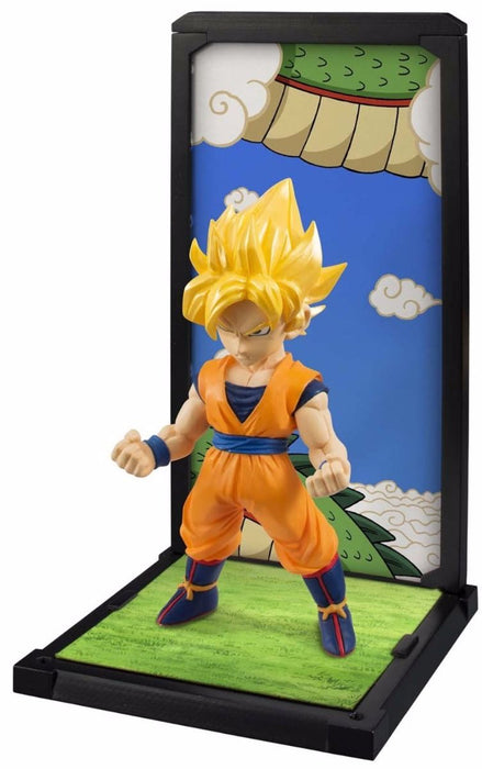 TAMASHII BUDDIES Dragon Ball Z SUPER SAIYAN SON GOKOU PVC Figure BANDAI Japan_2