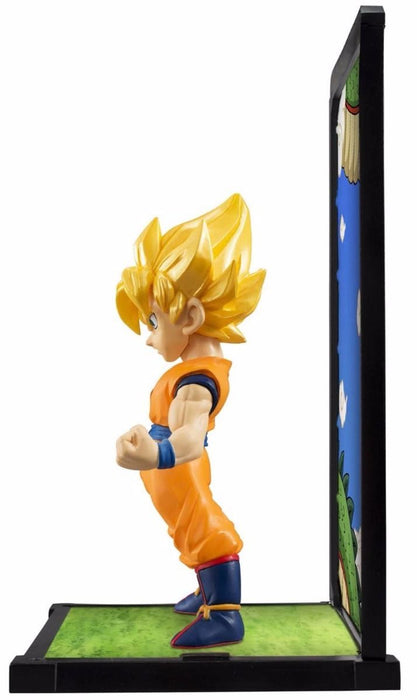 TAMASHII BUDDIES Dragon Ball Z SUPER SAIYAN SON GOKOU PVC Figure BANDAI Japan_3