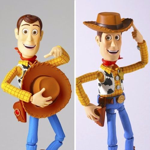 Tokusatsu Revoltech No.010 Toy Story WOODY Renewal Package ver. Figure KAIYODO_2