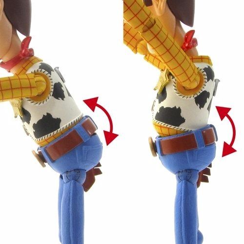 Tokusatsu Revoltech No.010 Toy Story WOODY Renewal Package ver. Figure KAIYODO_3