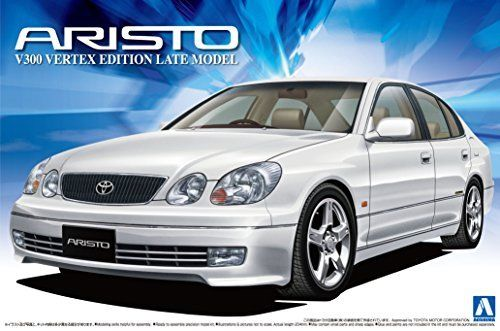 Aoshima JZS161 Aristo V300 Vertex Edition Late Type Plastic Model Kit from Japan_1