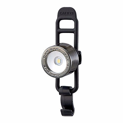 CATEYE SL-LD135-F Nima 2 Bicycle Front Safety Light Chrome Black from Japan_1