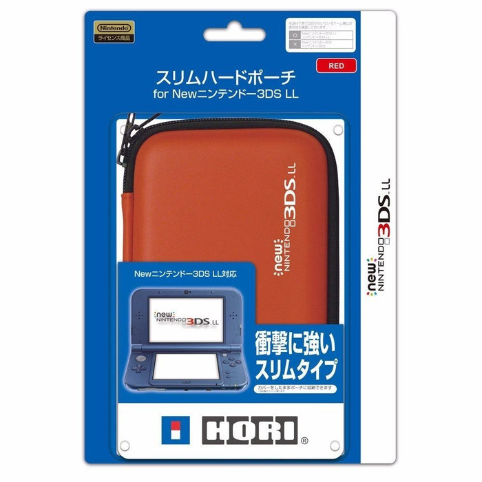 HORI SLIM HARD POUCH RED for NEW Nintendo 3DS LL EVA Free Shipping from Japan_1