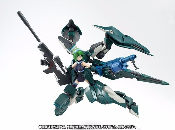 Armor Girls Project IS Infinite Stratos RAFALE REVIVE MAYA YAMADA BANDAI Japan_4