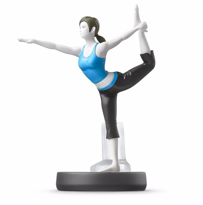 Nintendo amiibo Wii Fit TRAINER Super Smash Bros. 3DS Wii U NEW from Japan_1