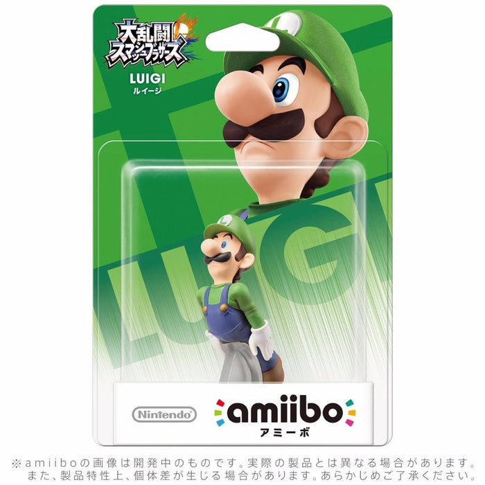 Nintendo amiibo LUIGI Super Smash Bros. 3DS Wii U Accessories NEW from Japan_2
