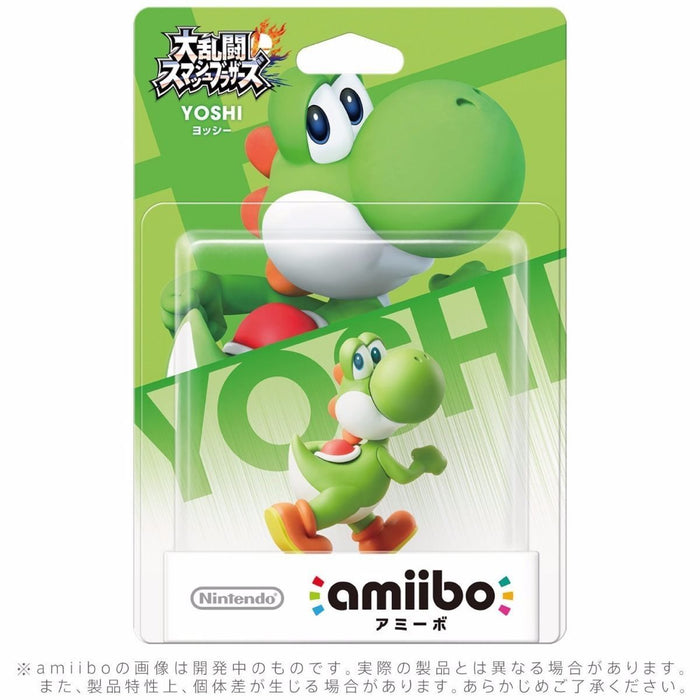 Nintendo amiibo YOSHI Super Smash Bros 3DS Wii U Game Accessories NEW from Japan_2