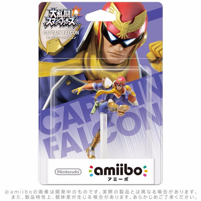 Nintendo amiibo CAPTAIN FALCON Super Smash Bros. 3DS Wii U NEW from Japan_2