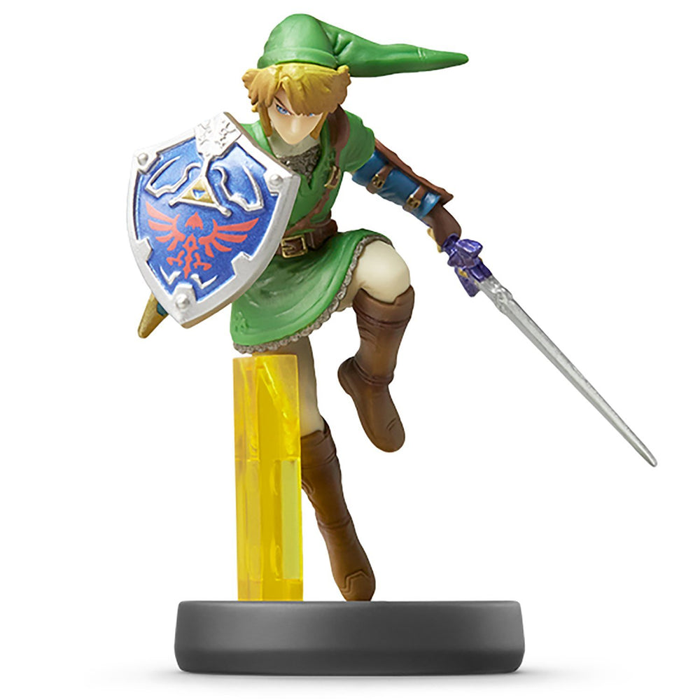 Nintendo amiibo LINK Super Smash Bros. 3DS Wii U Game Accesary NEW from Japan_1
